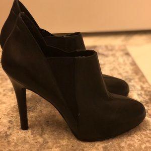 Heels, BCBG, black leather